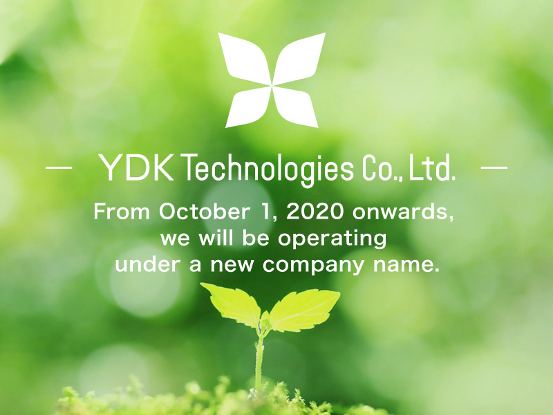Yokogawa Electronics Co., Ltd. changed its name to YDK Technologies Co., Ltd.